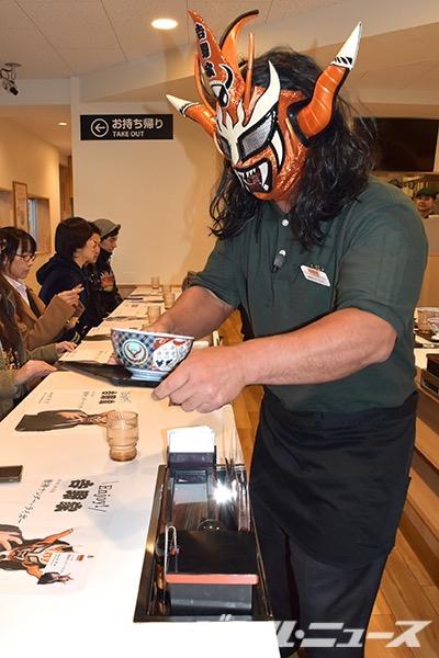 ライガーが吉野家の一日店長②