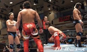 2015-11-23全日本プロレス後楽園_第6試合①