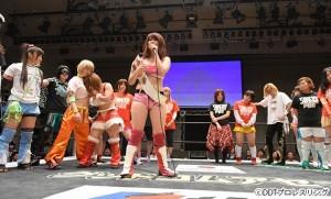 2016-01-04東京女子プロレス後楽園_エンディング