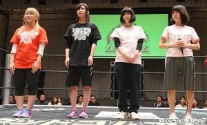 2016-01-04東京女子プロレス後楽園_オープニング①