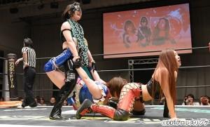 2016-01-04東京女子プロレス後楽園_第2試合