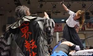 2016-01-04東京女子プロレス後楽園_第6試合②