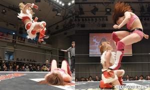 2016-01-04東京女子プロレス後楽園_第7試合②