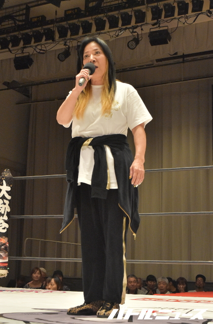 洋服が素敵な小田京子さん