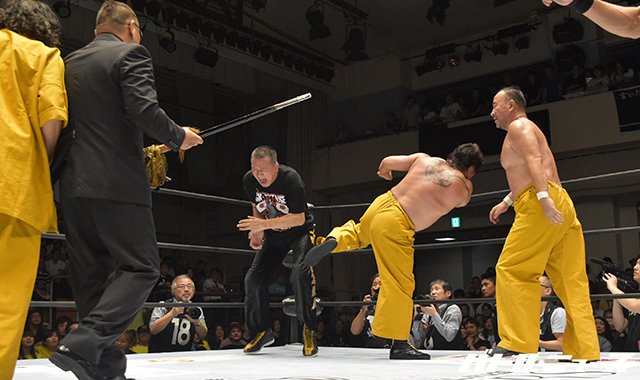 """W-1: Resultados """"Pro Wrestling Masters"""" 26/07/2017 La reunión de las grandes leyendas del Pro Wrestling japonés 8"""