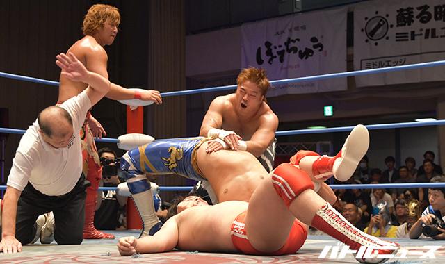 """AJPW/Toryumon: Resultados """"Lucha Fiesta 2017"""" 19/08/2017 Último Dragón celebró en Japón 30 años como luchador activo, el mensaje de Chris Jericho 6"""