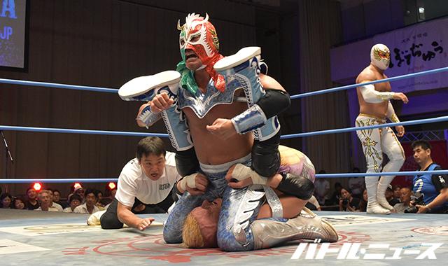 """AJPW/Toryumon: Resultados """"Lucha Fiesta 2017"""" 19/08/2017 Último Dragón celebró en Japón 30 años como luchador activo, el mensaje de Chris Jericho 7"""