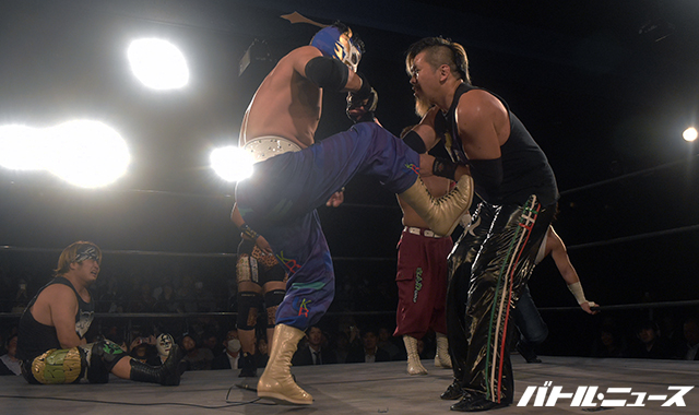"""Tokyo Gurentai: Resultados """"Tokyo Dream 2017"""" FUJITA celebró 20 años como luchador activo 5"""
