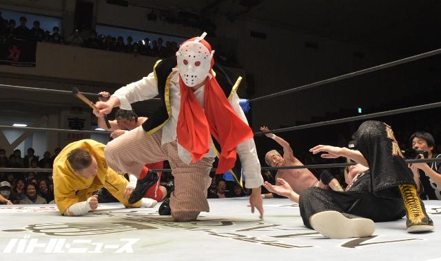 "W-1/Keiji Mutoh: Resultados ""Pro Wrestling Masters 3"" 4"