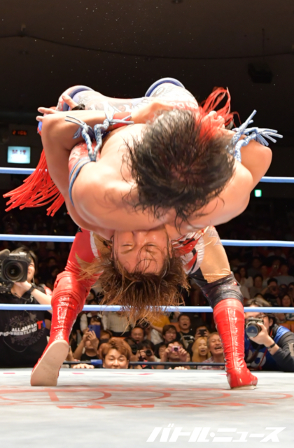 "AJPW: ""Dynamite Series 2019"" Kento Miyahara defiende cinturón 6"