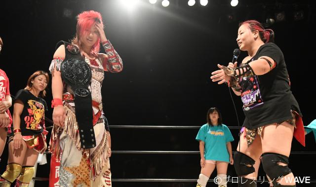 "WAVE: ""Saturday Night Fever 2019"" Takumi Iroha se aferra a su cinturón 8"