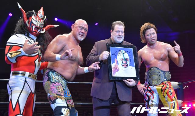 El gran homenaje a The Destroyer en Japón 2