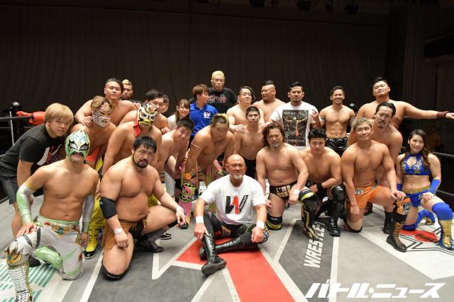 """Keiji Mutoh: """"Estoy tranquilo a pesar de lo difícil del cierre de Wrestle-1"""" 2"""