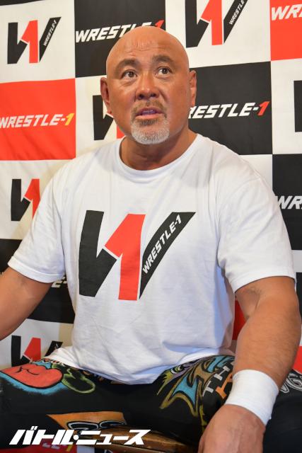 """Keiji Mutoh: """"Estoy tranquilo a pesar de lo difícil del cierre de Wrestle-1"""" 1"""