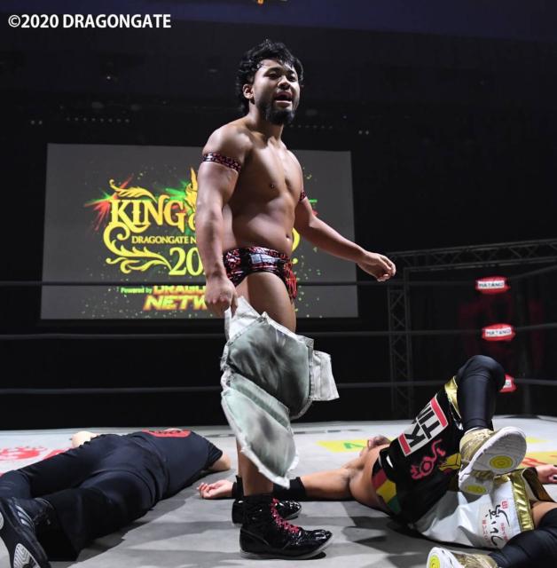 """Dragon Gate: """"King of Gate 2020"""" Inicia la competencia 2"""